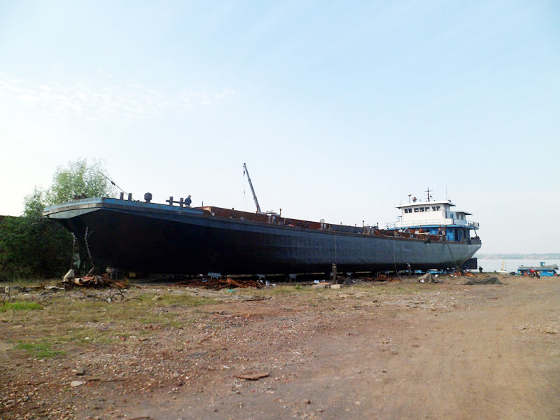 永达2号化学品船 改建